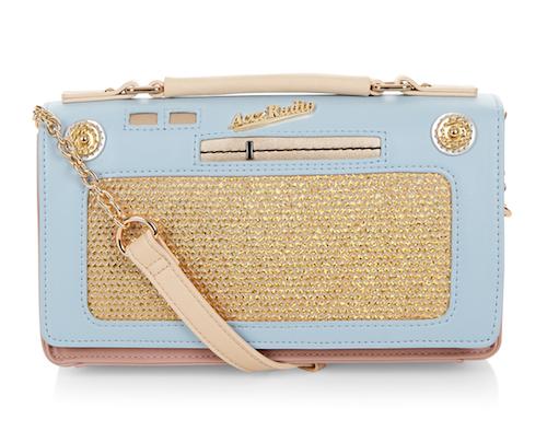 Vintage radio bag