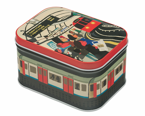 Paul Thurlby Underground tin
