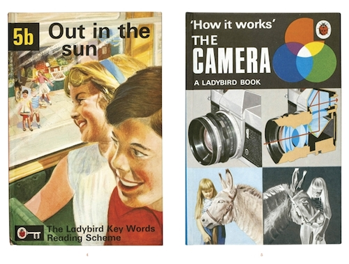 Ladybird book spreads