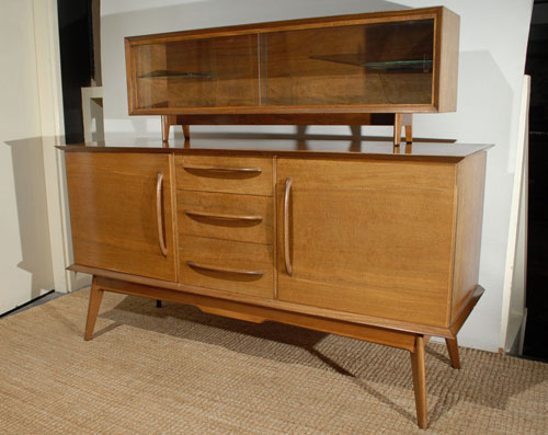 Ebay Watch 1950s Alfred Cox Midcentury Style Sideboard And Bookshelf Retro To Go