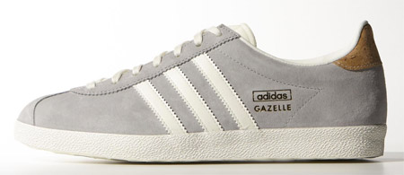 Adidas Gazelle Womens Light Grey