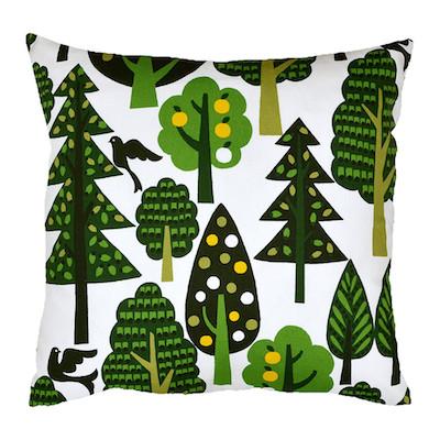 Hunkydory woodland cushion