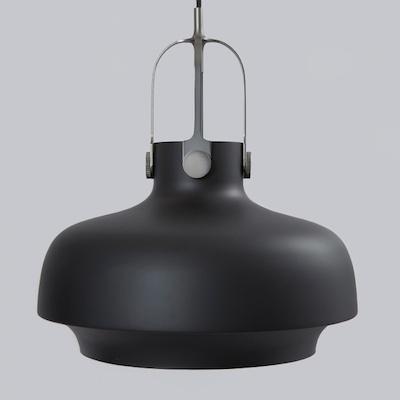 Matt black copenhagen pendant