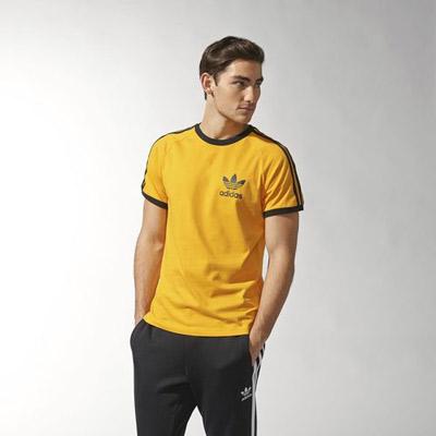 Two new colour options for the classic Adidas Trefoil t-shirt ... 305e16de3929