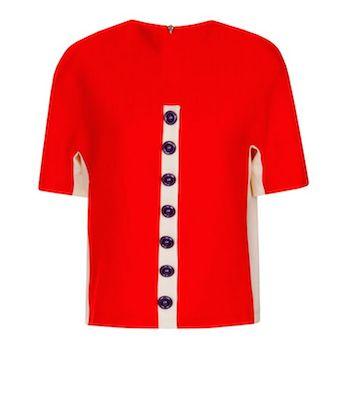 1960s top red
