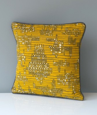 West Riding cushion