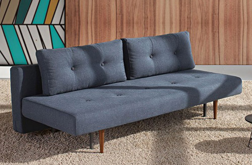 Scandinavian Style Recast Sofa Bed At One Deko Retro To Go