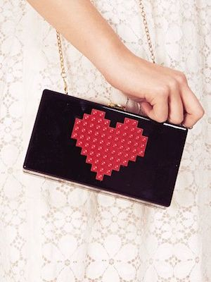 Heart lego bag