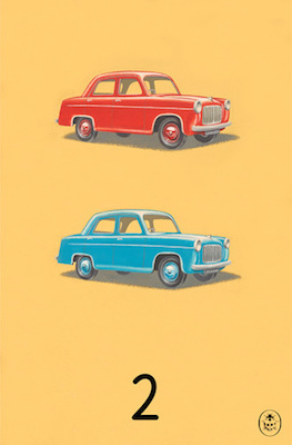 2 print Ladybird