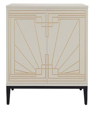 Carraway Drinks Cabinet To Really Embrace The Art Deco