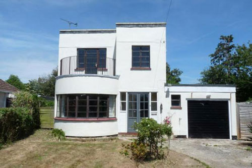 Renovation Project 1930s Art Deco Style Property In Elmer