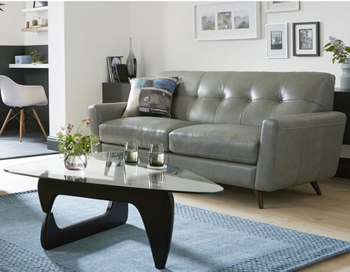 Famous High street retro: 1960s-style Camper sofa and armchair at DFS  WD81
