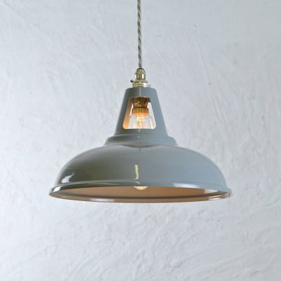 1930s Style Industrial Pendant Lamps From Artifact Lighting Retro