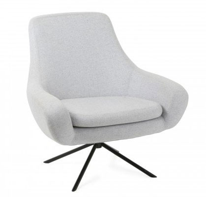 Awesome Clifton Scandinavian Style Swivel Armchair At Heals Retro Ibusinesslaw Wood Chair Design Ideas Ibusinesslaworg