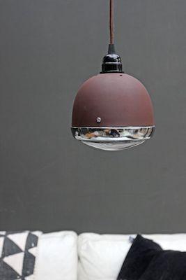 Vespa ceiling light rust