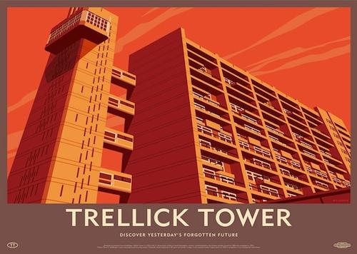 Trellick Tower Lost Destination