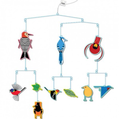 Birds mobile Charley Harper