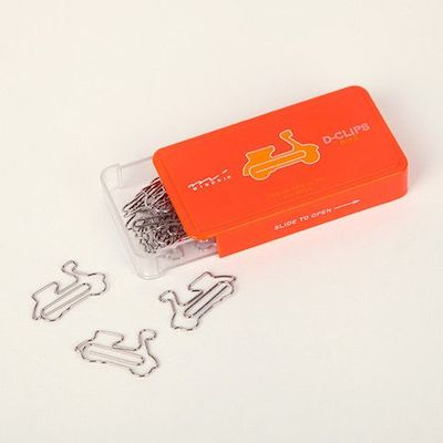 Scooter paperclips