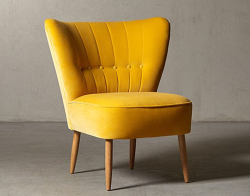 1950s-style Fitz cocktail chair at Swoon Editions ...