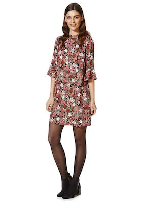 F&F retro print dress