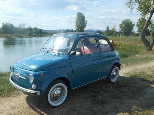 eBay watch: Restored 1968 Fiat 500 - Retro to Go