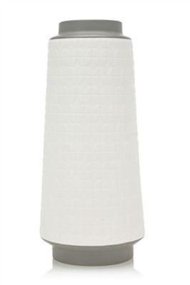 Tall embossed vase from Next