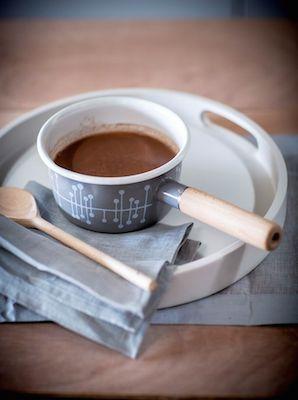 Missprint enamel milk pan