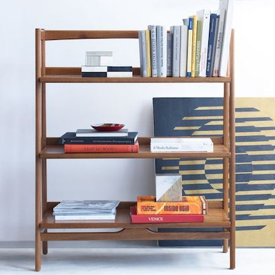 West elm midcentury bookshelf