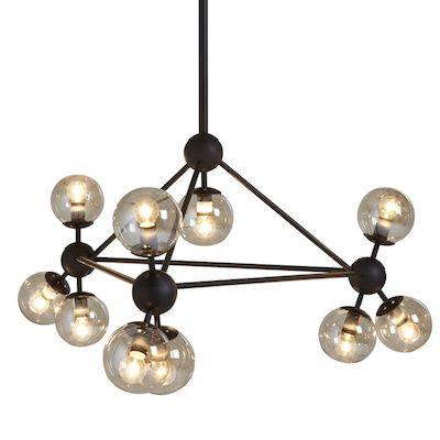 Retro lighting cluster pendant light from dwell retro to go cluster pendant lights dwell mozeypictures Gallery