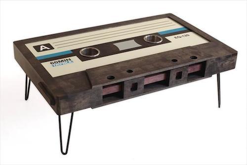 Classic cassette table