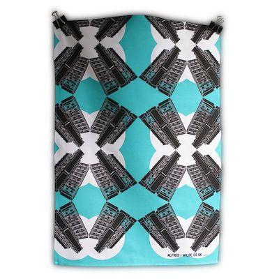 East london tea towel