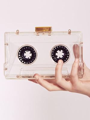 Cassette clutch bag
