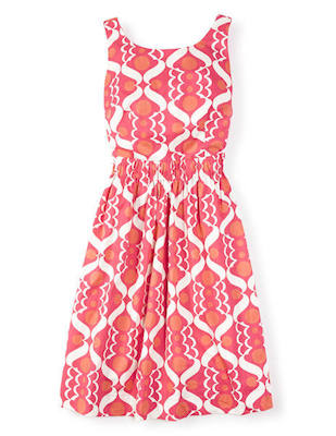 Hot pink beatrice dress Boden
