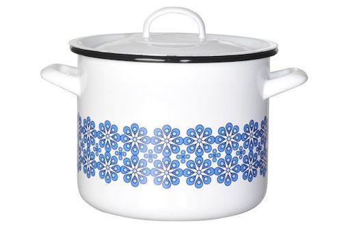 Blue flower casserole dish muurla
