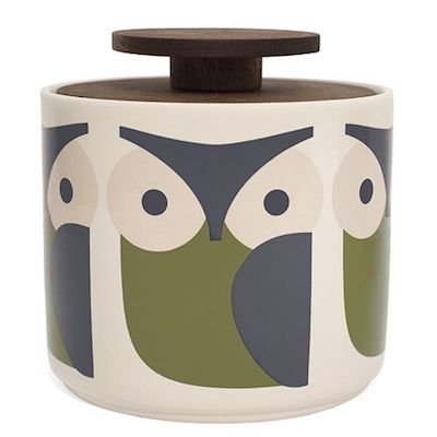 Olly owl storage jar