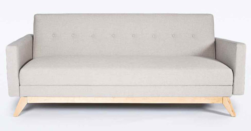 1960s-style Sofia Mitte Sofa Bed At Urban Outfitters
