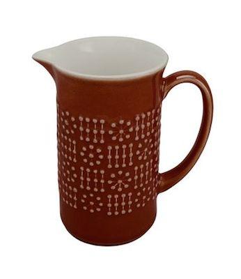 Ceramic midcentury jug