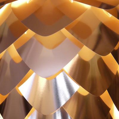 Copper cone detail