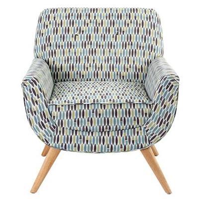 Skandi retro leaf armchair