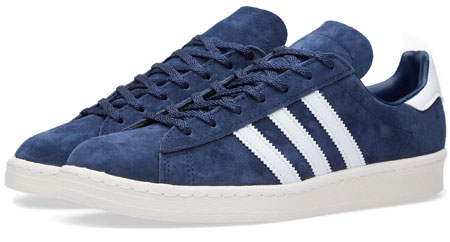 size 40 da69f 65e87 Adidas Campus 80s Vintage Japan trainers reissued in blue and black suede