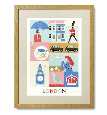 London print Naomi Wilkinson
