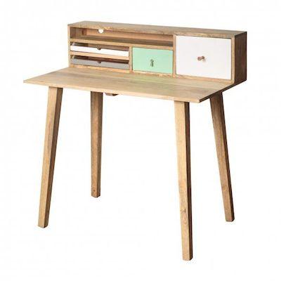 Bertie wooden desk Oliver Bonas