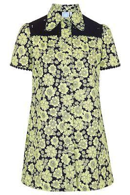 1960s shift dress