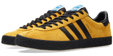 712e361249f51 ... Series we featured of late, then you'll be happy to hear that the first  of the shoes from the series is now available to buy. That's the Adidas  Jamaica ...