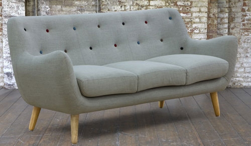 Retro Style Kennington Sofa And Armchair At Sofas Stuff Retro To Go