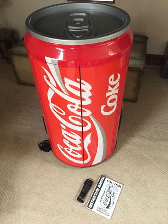 Ebay Watch Giant Coca Cola Can Hi Fi System Retro To Go