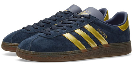 Out now: 1980s Adidas München SPZL trainers reissue - Retro to Go