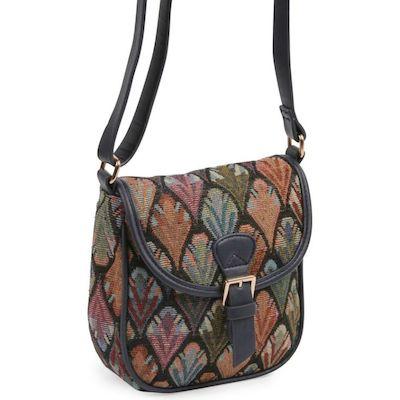 Tapestry saddle bag