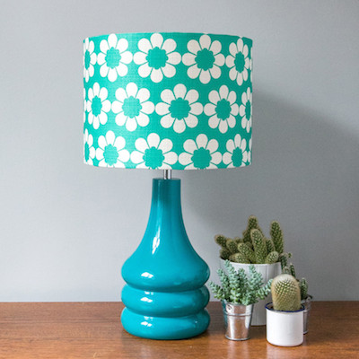 Hunkydory home floral lampshade