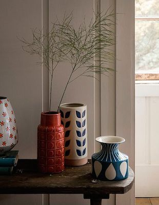 Dickins & jones midcentury vases